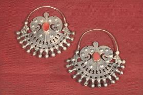 Untitled (Earrings from Turkmenistan)