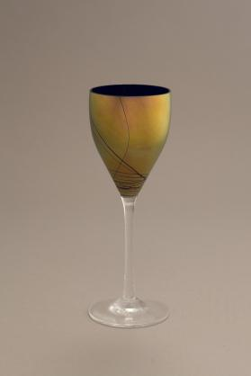 Large Wine Goblet (from the Gold Lustre Series)