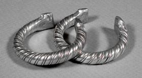 Untitled (Pair of Cuffs from the Nile Delta, Egypt)