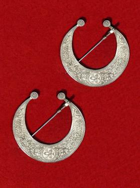 Untitled (Pair of Berber Fibulae from Tunisia)