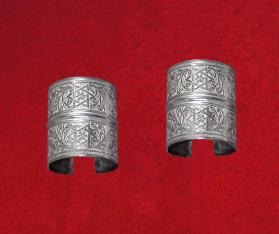 Untitled (Pair of Cuffs from Tatouine, Tunisia)