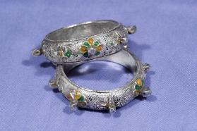 Untitled (Pair of Bangles from Morocco)