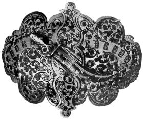 Untitled (Belt Buckle from Daghestan, Caucasus)