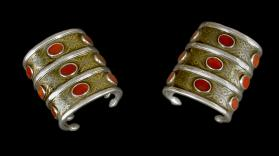 Untitled (Pair of Cuffs from Turkmenistan)