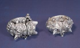 Untitled (Pair of Anklets from India)