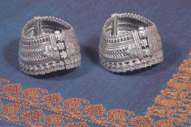 Untitled (Pair of Anklets from Gujurat, India)