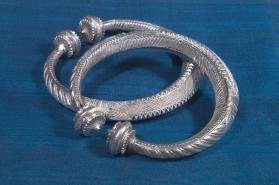 Untitled (Pair of Anklets from North India)