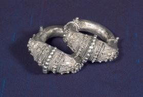 Untitled (Pair of Anklets from Central India)