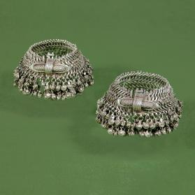 Untitled (Pair of Anklets from Rajasthan, India)