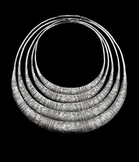 Untitled (Miao Neckrings from China)