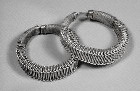 Untitled (Pair of Miao Bracelets from China)